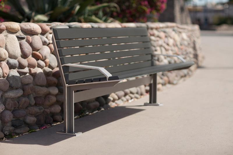 Knight Bench | Outdoor | Forms+Surfaces