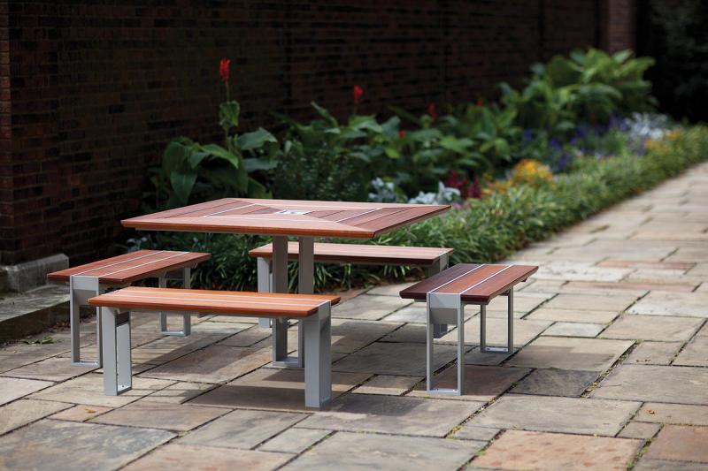 Apex Table Ensemble | Outdoor | Forms+Surfaces