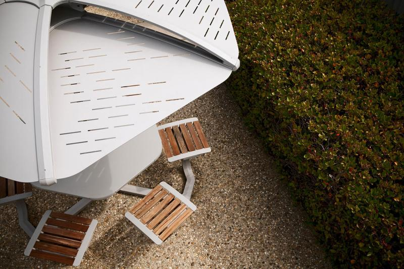 Soleris Sunshade | Outdoor | Forms+Surfaces