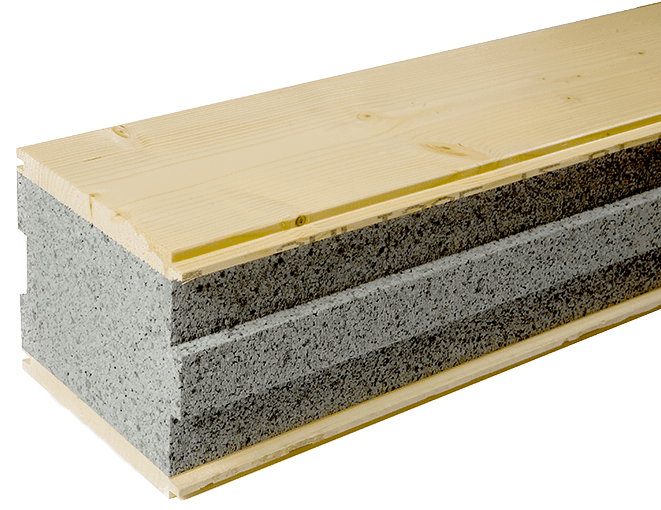 Sapisol® Structural Insulated Decking