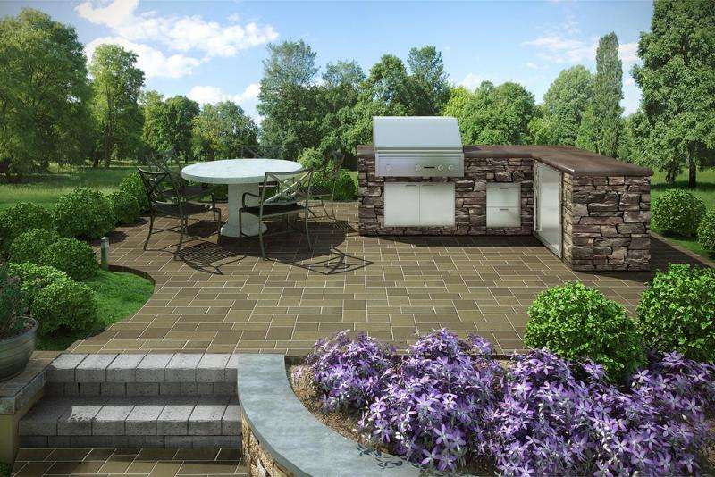 Parkview Signature Kitchen - Eldorado Stone