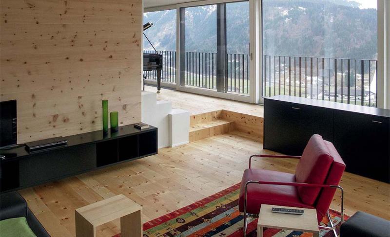Larch Custom Milled Flooring