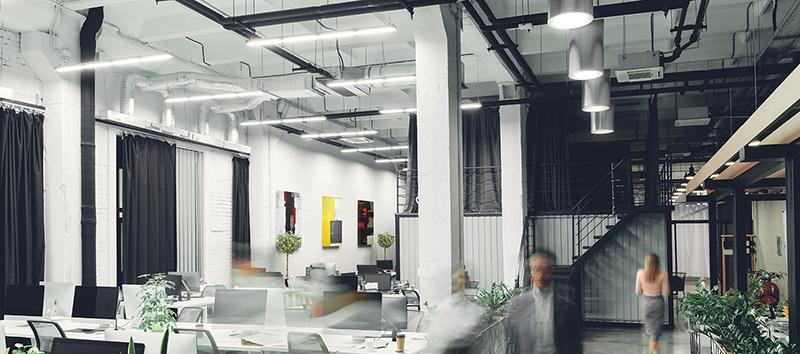 Sunoptics LightFlex LED for open-ceiling application - SLFOL