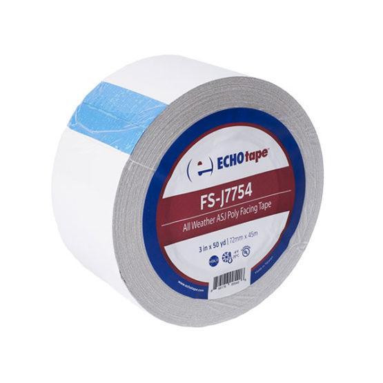 FS-J7754 | All Weather ASJ Poly Insulation Facing Tape | ECHOtape