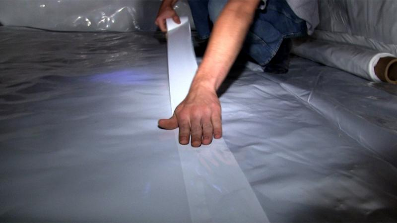 StegoCrawl Tape | Crawl Space Sealing & Encapsulation