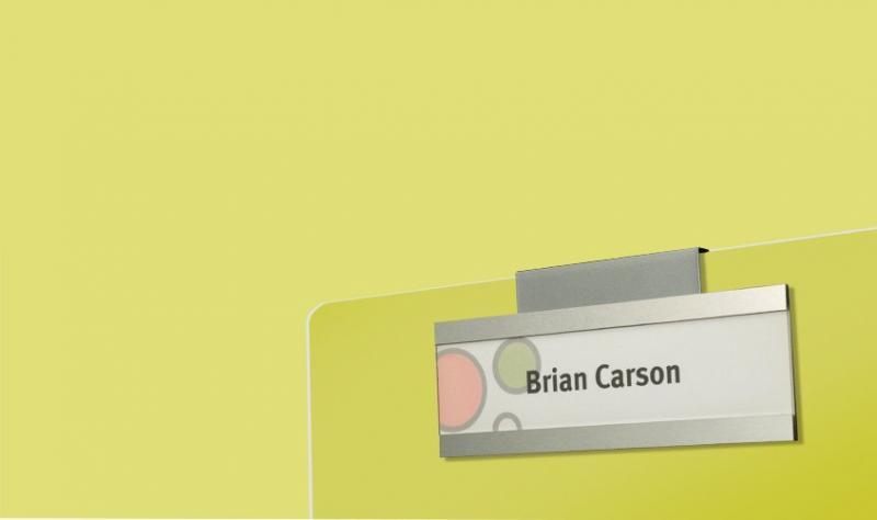 Fusion Workstation Nameplates