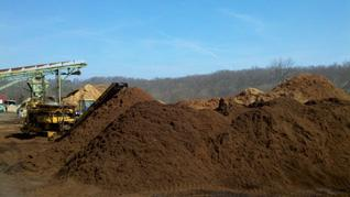 Bark Mulch, 100% hardwood, no additives