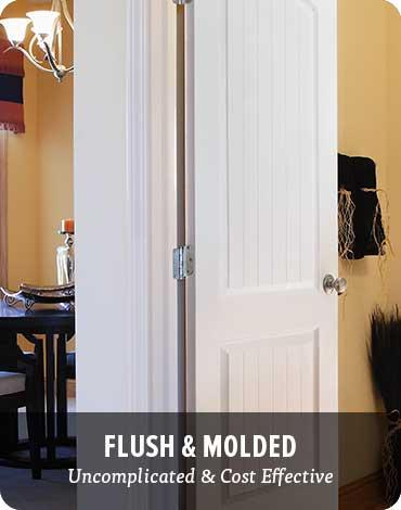 Interior Doors - Flush and molded