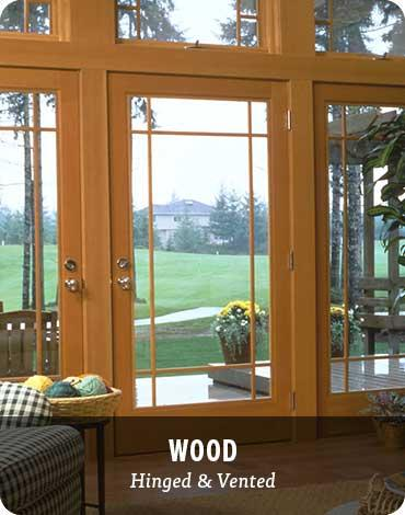 Patio Doors - Wood