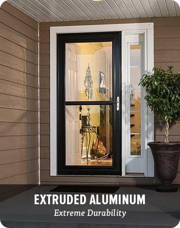 Storm Doors - Extruded aluminum