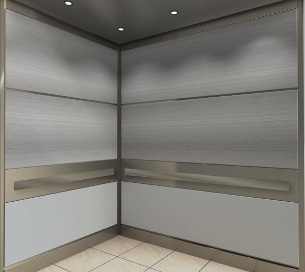Hercules™ Stainless Steel Elevator Interior & Wall Panels | Inpro Corporation