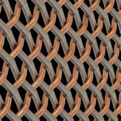 Designer Wire Mesh - Copper/Stainless - 33814800 | McNICHOLS