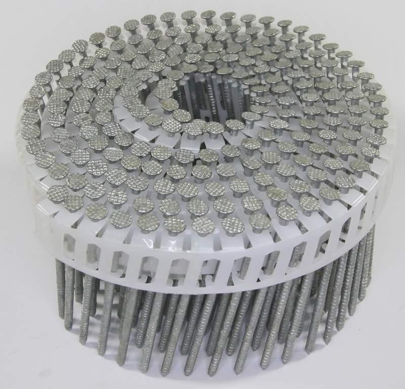 15° Hot-Dip Galvanized Split-Less® Wood Siding Nails | Beveled Siding | Maze Nails