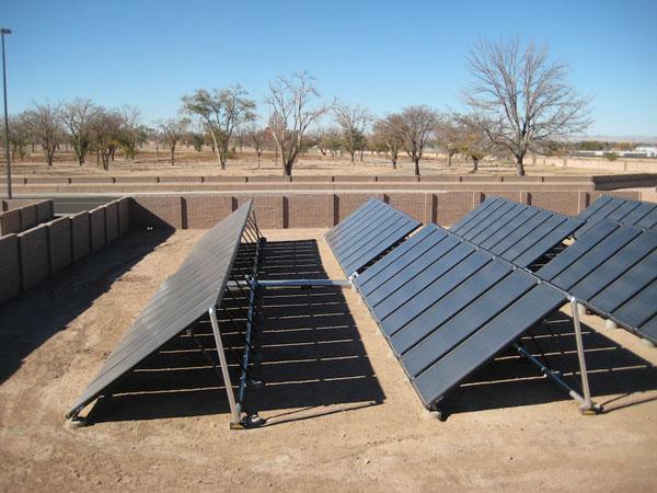 Solar Hot Water Collectors