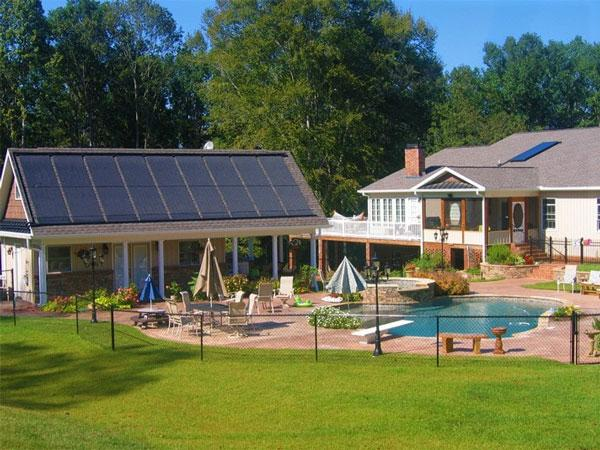 Solar Pool Heating Collectors - Oasis Solar Pool Collector | SunEarth