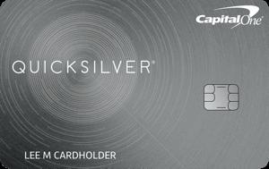 Quicksilver Cash Rewards Credit Card