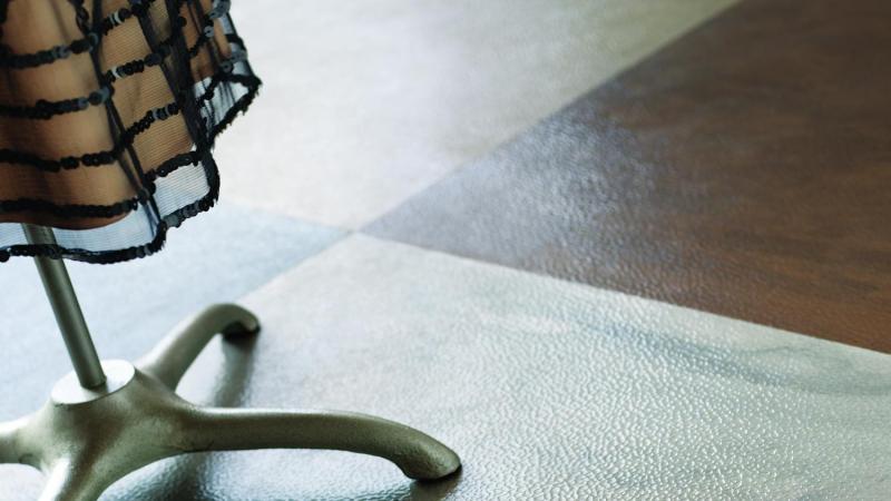 Metallurgy Rubber Tile
