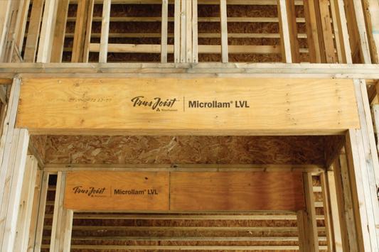Microllam® LVL Headers :: Weyerhaeuser