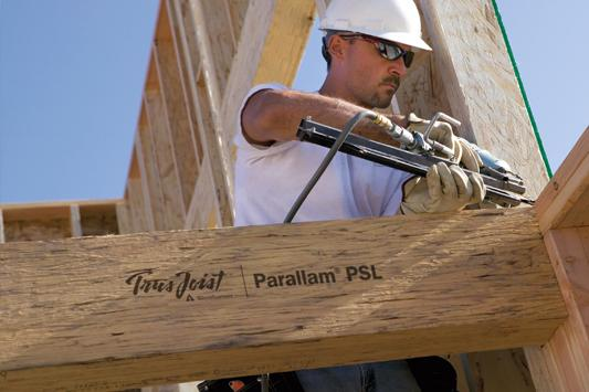 Parallam® PSL Beams :: Weyerhaeuser