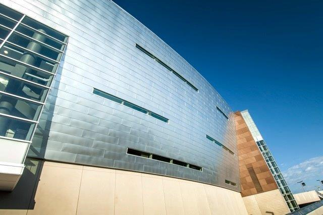 Flat Lock Exterior Stainless Steel Panel System   Millennium Forms