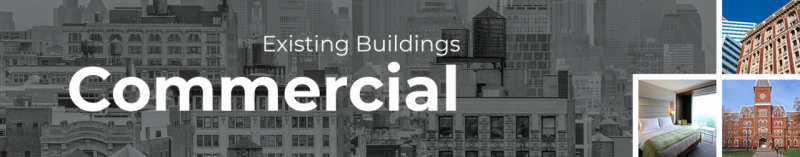 Existing Buildings Commercial - Energy Efficiency