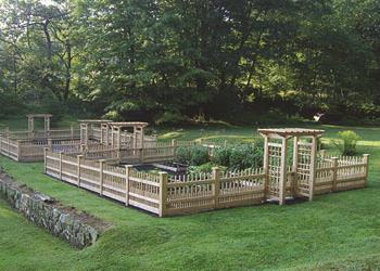 Garden Enclosures | Garden Fences | Walpole Outdoors