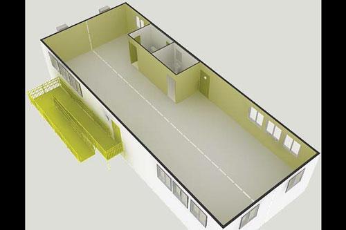 Double Wide Modular Buildings | Triumph Modular