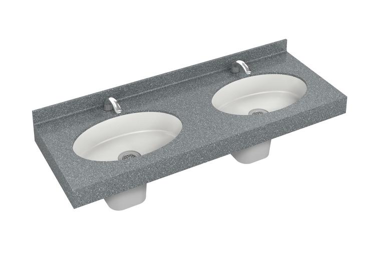 OmniDeck Series Oval Multipurpose Basin