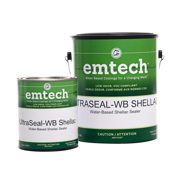 EMTECH USH3000 UltraSeal-WB Shellac Sealer - Target Coatings