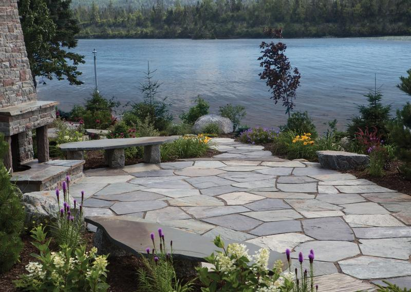 Natural Stone | Random Flagstone for Landscaping | Shaw Brick