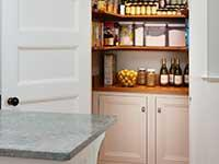 Custom pantry cabinetry | Kitchen pantry | Pantry cabinets