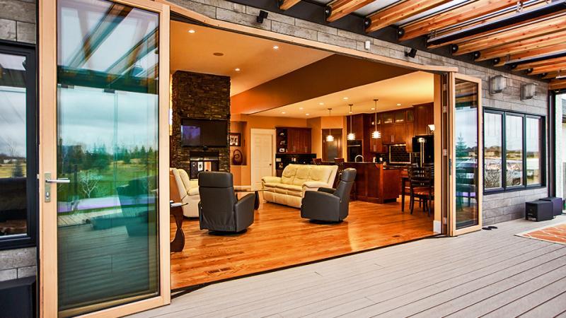 FoldFlat, Innovative Foldable Glass Door Systems   NanaWall