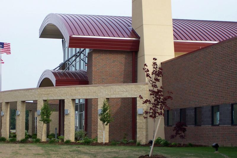 Curved BattenLok® Panels - Curved Standing Seam Metal Roofing System | MBCI