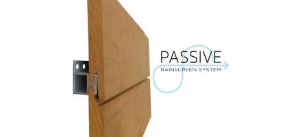 Passive Rainscreen System - High Profile | Kebony