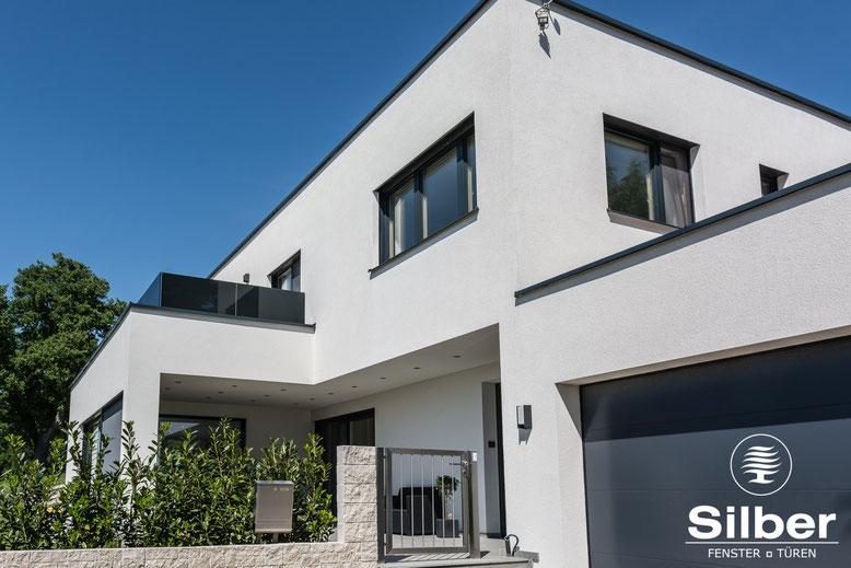 Universelle Silber Design 80 Fenster aus Wels, Österreich - SILBER Fensterbau