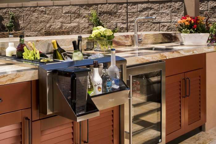 Bartender Station Cabinets