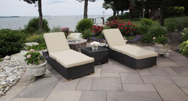 Salina Outdoor Lounge Chair Package