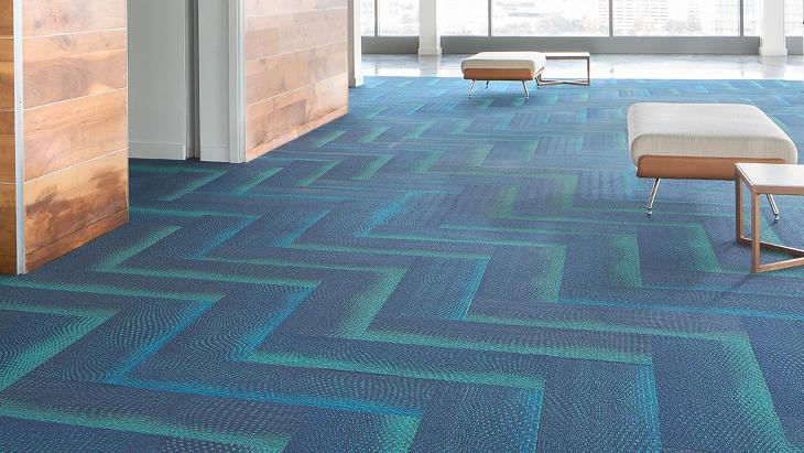 Breaking Form Carpet Designs, Three Dimensional Carpet | Mohawk Group