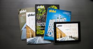 Green Building & Design (gb&d) trade magazine