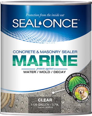 Seal-Once Marine Nano Guard Concrete Masonry Sealer