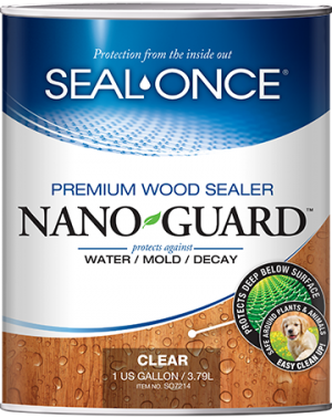 Seal-Once Nano Guard Premium Wood Sealer Product Image