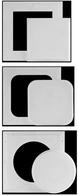 Glass Fiber Reinforced Gypsum Access Panels - Pop-Out type Product Description Page