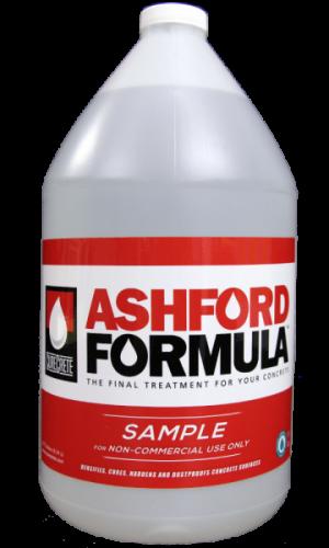 Ashford Formula | Gallon Sample – Curecrete Distribution, Inc.