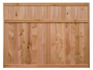 Tongue & Groove Fence Panels