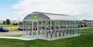 Guardian Lockable Bicycle Shelter