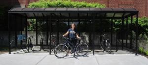 Transit Bicycle Shelter