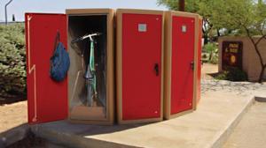 Bike Lockers - 300 Series