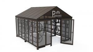 Peapod Bicycle Shelter