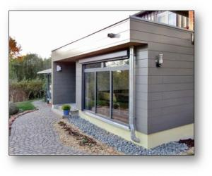 Tricoya used as exterior cladding