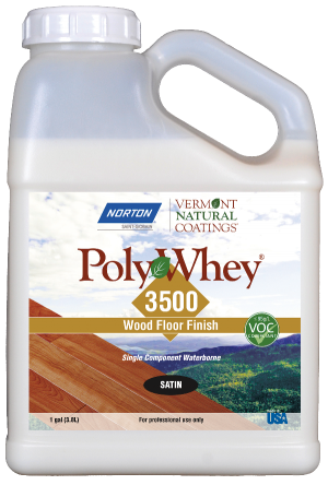 Vermont Natural Coatings PolyWhey 3500 Professional Wood Floor Finish
